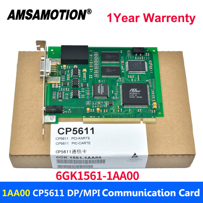 Free Shipping CP5611 PCI PROFIBUS MPI PPI Card 6GK1561-1AA00 Communication Card 6GK15611AA00 cp5611 6gk1561 1aa00 mpi ppi profibus card for s7 200 300 400 plc fast delivery