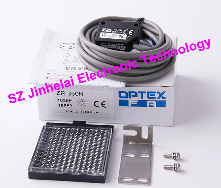 New and original ZR-350N OPTEX   PHOTOELECTRIC SWITCH  Photoelectric sensor e3x da21 s photoelectric switch