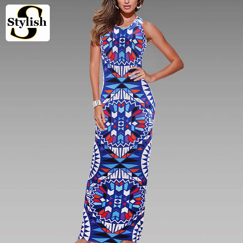 Aliexpress.com : Buy Maxi Dress Summer Bohemian Boho Dress ...