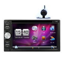 New Arrival! In Dash Car Navigation DVD Player with GPS Car DVD Player Digital Touch Screen 6.2 Inch With Rear Camera
