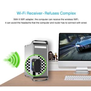 Image 5 - USB واي فاي محول 600Mbps بطاقة الشبكة اللاسلكية إيثرنت انتينا جهاز استقبال واي فاي USB LAN التيار المتناوب المزدوج الفرقة 2.4G 5GHz للكمبيوتر واي فاي دونغل
