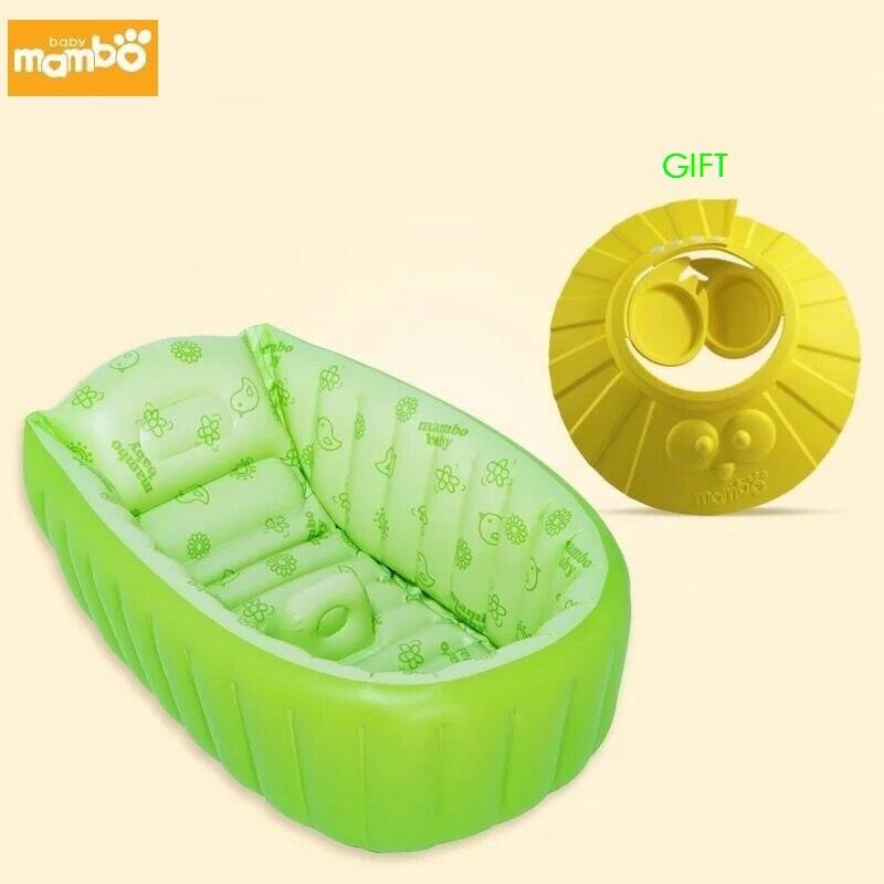 spessore regolabile da bagno gonfiabile vasca da bagno bambino fioritura bambino scherza regalo shampoo cap bagno