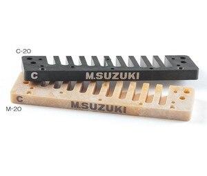 Image 4 - Suzuki C 20 Olive 10 Loch Mundharmonika Grün Professionelle Blues Diatonic Harp10 Löcher Musical Instrument [Wählen ihre schlüssel]