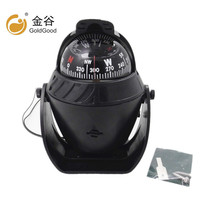 Car compass guide ball car with magnetic declination adjustment function
