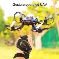 Mini Faltbare Handschuhe Control Aircraft Spielzeug Hubschrauber Spielzeug für Erwachsene Kinder M09