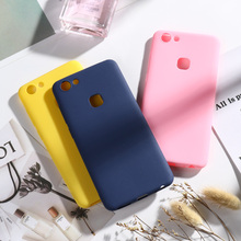 Matte Candy Case for Vivo X7 X20 Plus X27 Pro X23 X21 Cases V9 Y85 Y89 V7 Y75 V15 V11i Y97 V11 Bumper Funda Capa