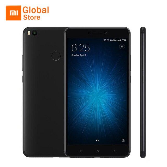 """Глобальная версия Сяо Mi Max 2 4 ГБ Оперативная память 64 ГБ мобильный телефон Snapdragon 625 Octa core 6.44"""" 12MP сзади Камера Miui 8 5300 мАч Батарея"""