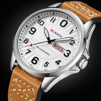 CURREN Casual Mens Watches Top Brand Luxury Men S Quartz Watch Waterproof Sport Military Watches Men