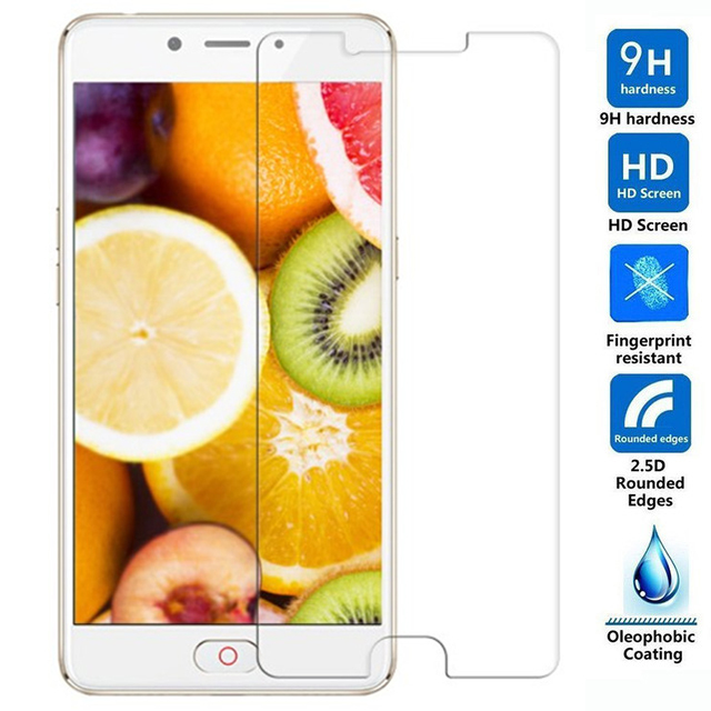 2.5D Tempered Glass For ZTE Nubia M2 Lite Protective Film 9H Explosion-proof LCD Screen Protector For ZTE Nubia M2 Lite(China)