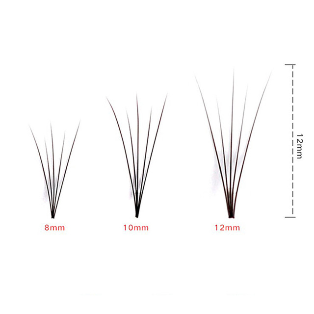60 pcs/lot Artificial natural long Individual Cluster eyelashes Professional makeup Grafting fake false eyelash made in china 5