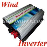1000W on Grid Tie Power Inverter AC 22V~60V 45 90v to AC 190V~260V with Dump Load Controller,for 3 Phase Wind turbine