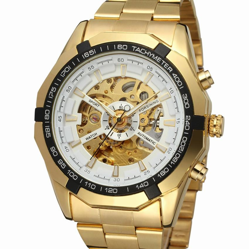 Mens Watches top brand luxury Winner Fashion Skeleton Clock Men Sport Watch Automatic Mechanical Watches Relogio Masculino mens mechanical watches top brand luxury watch fashion design black golden watches leather strap skeleton watch with gift box