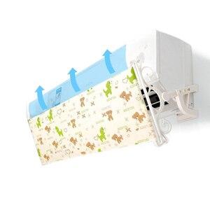 Image 1 - 壁掛け空調偏向器印刷オックスフォード生地フロントガラス防止直接吹いバッフル AQ114