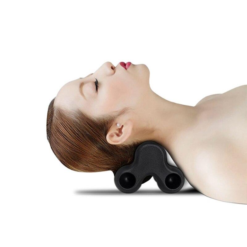 Beauty & Health 2018 New Bone Massage Cervical Traction Neck Hammock Massage Cervical Spine Wrist Shoulder Acupuncture Points Pillow Health Care