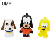 New cartoon usb flash pen drive 8gb 16gb 32gb 64gb disk memory stick cute really pendrive birthday dog truly capability cle
