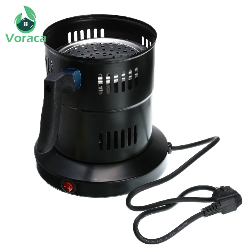Big New Arab Shisha Oven Hookah Charcoal Stove Shisha Hookah Accessories Chicha Electric Metal Charcoal Burner