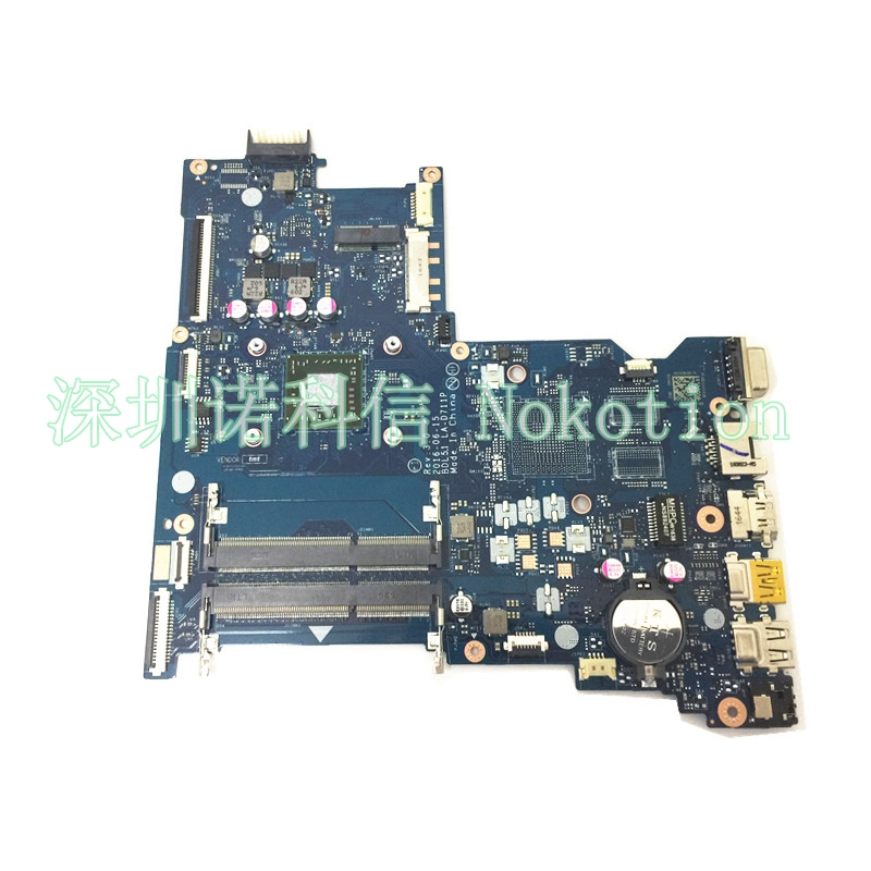 NOKOTION Laptop Motherboard for HP 255 G5 LA-D711P 858589-601 1.8Ghz CPU E2-7110 A00172 Mainboard full test hp 255 g5