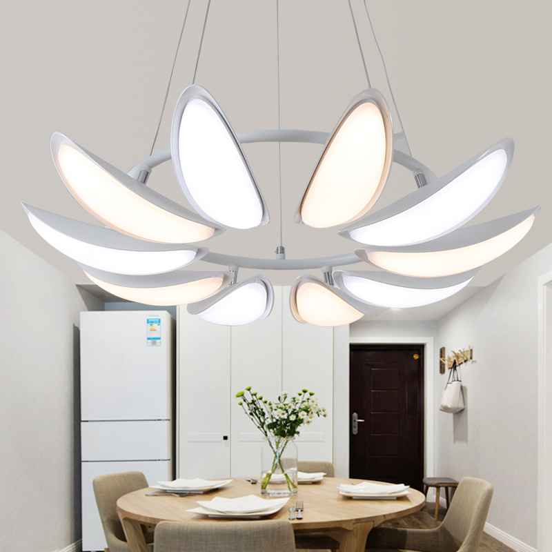 Suspension luminaire cuisine design moderne led plafond for Lustre moderne salle a manger