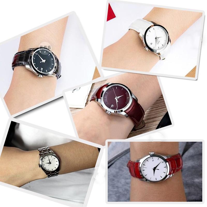 ISUNZUN Frauen Uhrenarmband Für Tissot T035210A T035207 Uhrenarmband - Uhrenzubehör - Foto 5