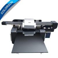 12 colors 6090 UV Flatbed Printer Acrylic UV Printer use for wood,pen uv led printer 60*90 printer