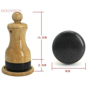 Authentic Meteorite Moxibustion Cans Moxa Equipment Wooden Warm Ai Apparatus Wenjing Tongluo Scraping Body Massage Care Tool