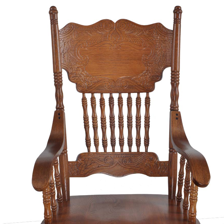 buy armchair wooden luxury home furniture oak vintage dining chair carved back dining room dining wooden chair for from