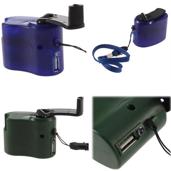 Durch Dhl Oder Ems 100 Stück Usb Hand Power Dynamo Taschenlampe Ladegerät Für Handy Tablet Mp3 Universal