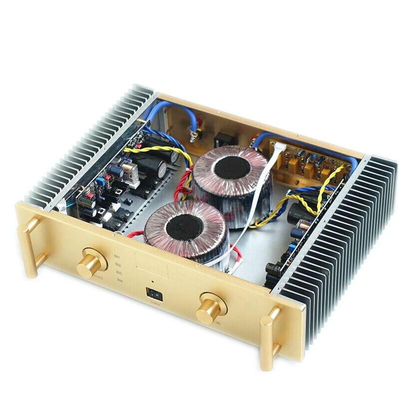 TIANCOOLKEI A2 new A / B class amplifier 2SC3264 2SA1295 classical amplifier A2 circuit diagram hifi Audio Amplifier board