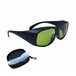 YHP высокой мощности 808nm, 980nm, 1064nm, диод, ND: YAG лазерная защита очки мульти длина волны лазерные защитные очки