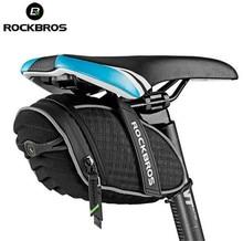 RockBros Bicycle Rainproof Saddle Bag 3D Shell Rainproof Reflective Rear Seatpost Cycling Bike Bag Bike Accessories