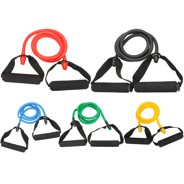 Rubber Latex Fitness Resistance Band | Exercise Tube | Elastic Exercise Yoga Band