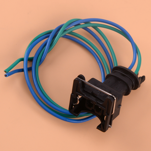 US $1.81 9% OFF|CITALL 2 Pin Car Auto Fuel Pump Plug Wire Harness Connector on