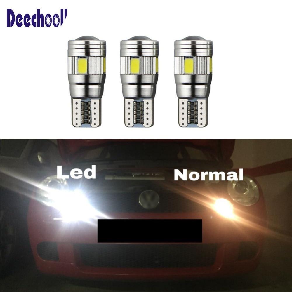 1x Chevrolet Volt Bright Xenon White Superlux LED Number Plate Light Bulb