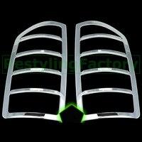 XYIVYG 02-06 cho Dodge Ram 1500 + 2500 + 3500 Heavy Duty Truck Car Chrome Cắt ABS Mạ đèn hậu Đuôi Ánh Sáng Đèn Bìa Bezels