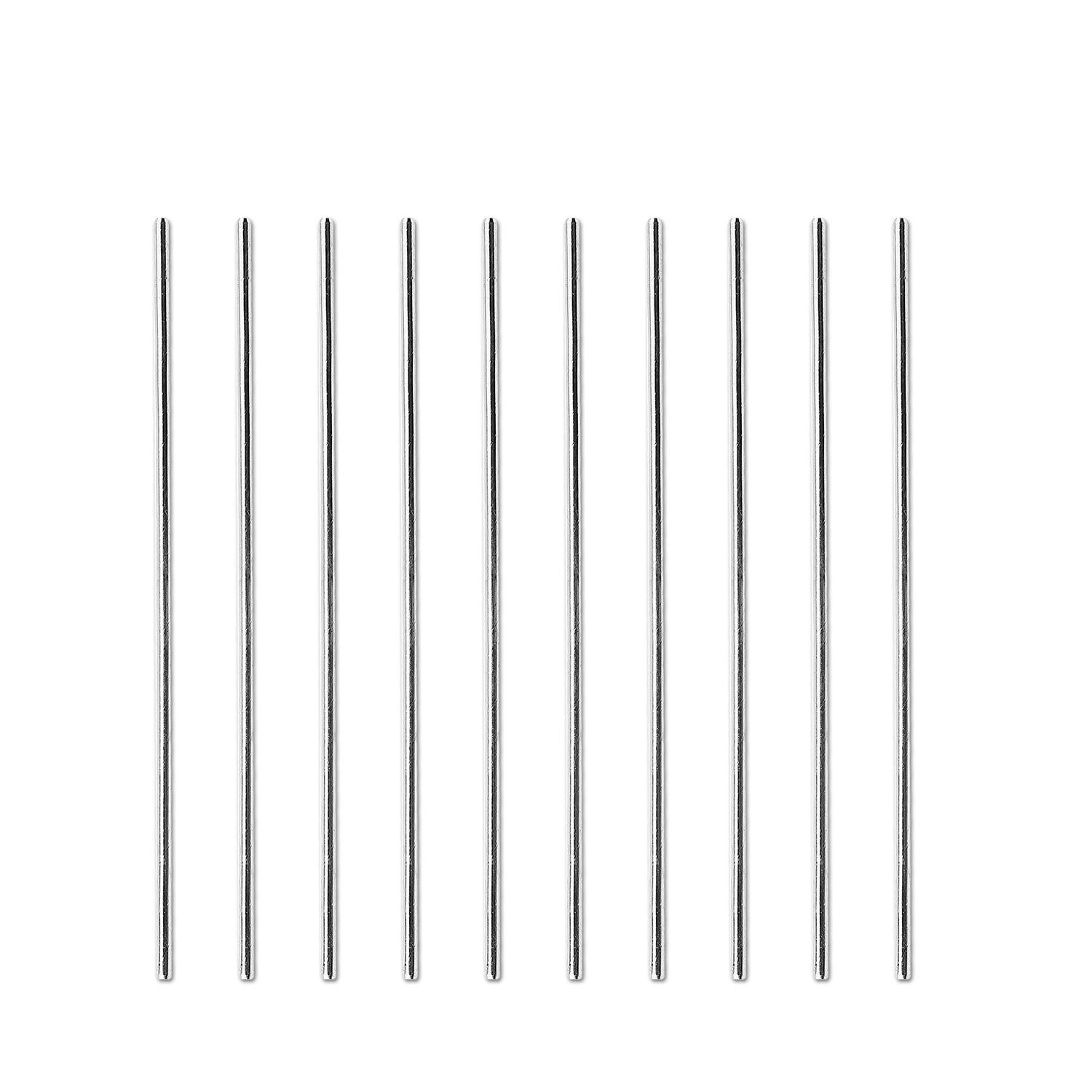 Retail 15Pcs HSS Rod 1mm Dia 100mm Long Lathe Tool Round Rod For Lathe Stock Replacement High Speed Steel Turning Lathe Bar Rod