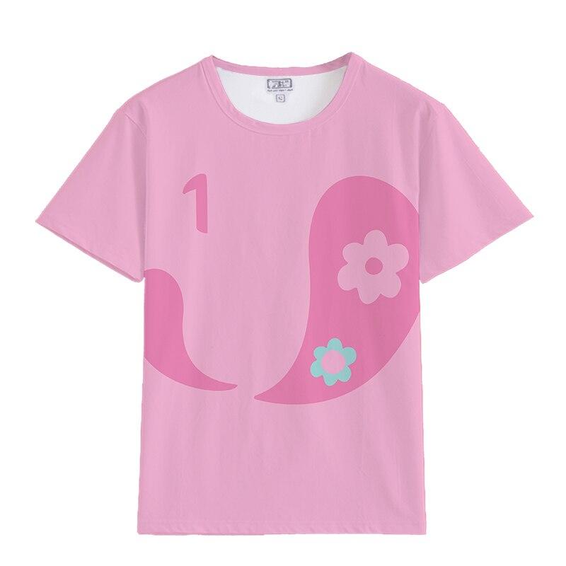 Anime Zombieland Saga Sakura Minamoto Konno Junko Cosplay Costume Funny Girls Women Short Sleeve T-shirt Tops