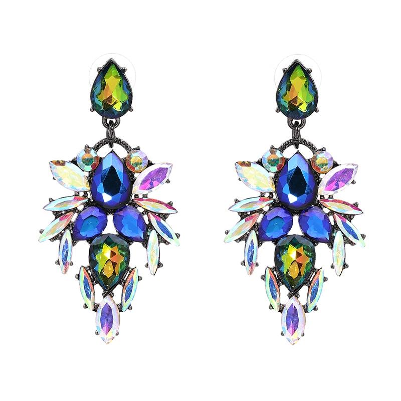 Hete kleurrijke bloem Big Brand Design luxe Rhinestone Starburst - Mode-sieraden - Foto 6