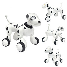 Music Smart Remote Robot Dog Control Electric Interactive Smart Cat Children New Dance Robot Electronic Pet Educational Toys(China)
