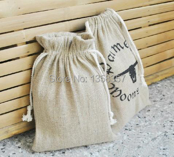 Free shipping jute/linen drawstring bag for accessories ecklace\gift\jewelry\artware packaging bags\pouch customize wholesale