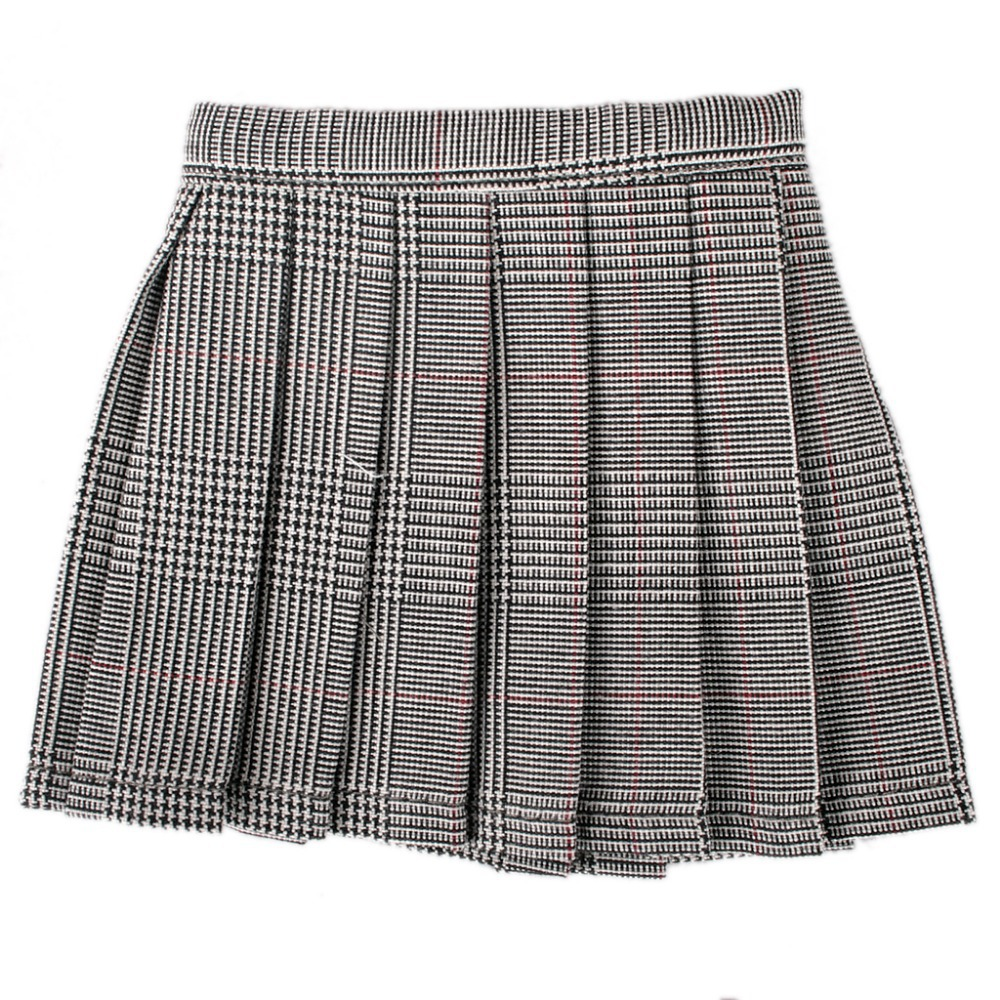Popular Grey Plaid Skirt-Buy Cheap Grey Plaid Skirt lots from ...
