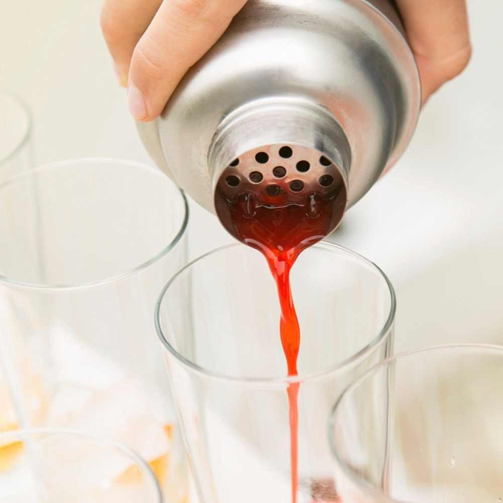 Mezclador de vino coctelera de acero inoxidable UPORS, coctelera Martini Boston para bebida de barman, herramientas de Bar de fiesta 550ML/750ML