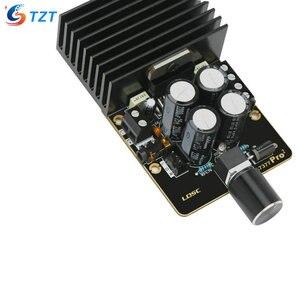 Image 3 - Placa amplificadora TZT TDA7377 DC12V, Clase AB, tarjeta amplificadora de coche, 35W + 35W, doble canal, bricolaje, Kit de amplificador de Audio