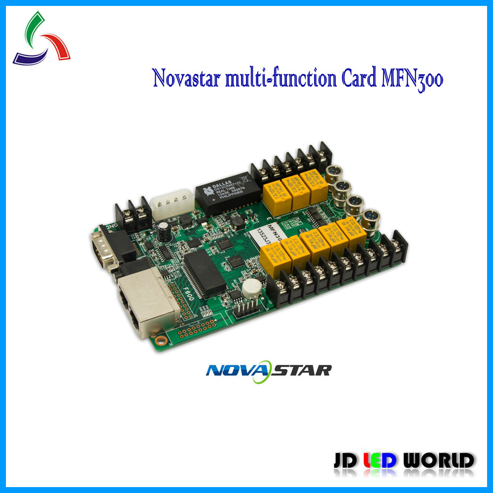 US $105 0 |NOVAstar multi Function Card NOVA MFN300-in LED Displays from  Electronic Components & Supplies on Aliexpress com | Alibaba Group