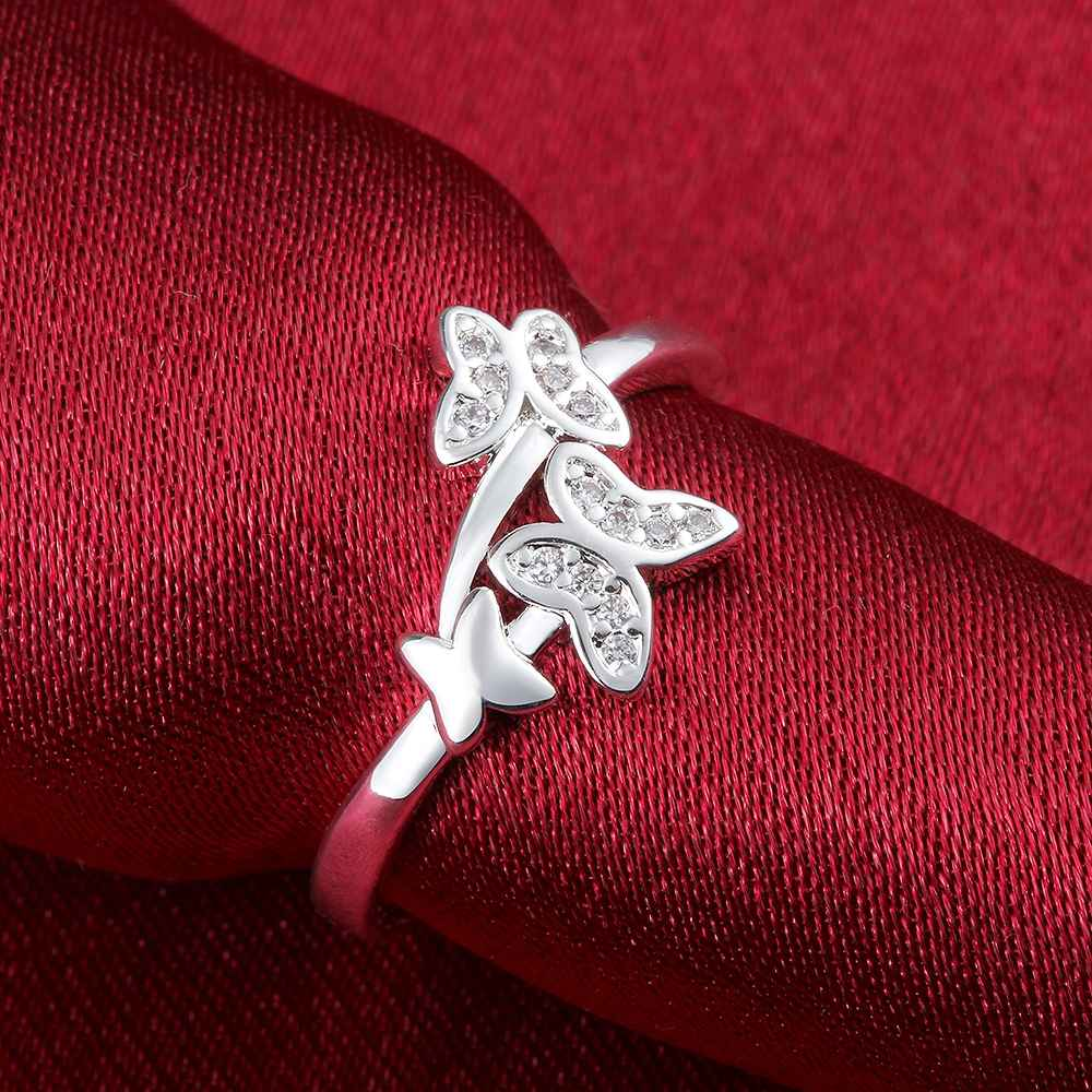 TR14 hot sell product  2019 new arrival Europe and America natural jewelry silver sterling ring for women birthday giftTR14 hot sell product  2019 new arrival Europe and America natural jewelry silver sterling ring for women birthday gift