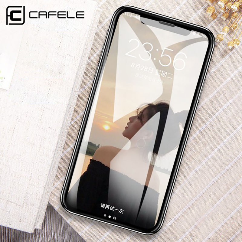 CAFELE Screen Protector for iPhone Xs Max XR Tempered