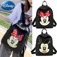 Disney 2019 New 3D Cartoon Mickey Kids Backpack Bags Design Children Primary Schoolbags Cute Backpacks Boys Girls Polyester Bag