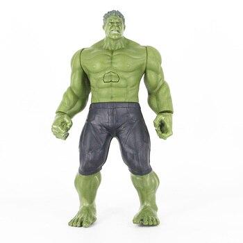 30cm Big Hulk With Sound & Light Display Action Figure Toy Hulk Doll Jouet With Box Model Gift Marvel Hulk Toys фото