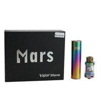 Vapor Storm Mars Electronic Cigarette kit 0.3ohm Top E juice Refill Tank 2600mah Battery Vape pen Vaporizer vs Ijust 2 ijust s