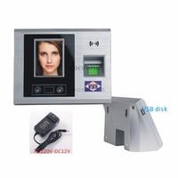 2.8 TFT Touch screen Fingerprint+password+Face Recognition Attendance Machine time Attendance Clock Recorder nosoftware