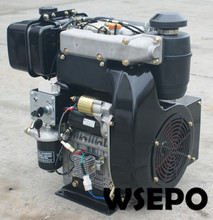 Factory Direct Supply! WSE-292F 997cc 25hp E-Start Double-Cylinder Air Cooled Diesel Engine for Generator/Pump/Air Compressor